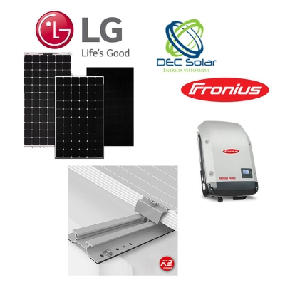 KIT-Fotovoltaic-ON-GRID-MONOFAZAT